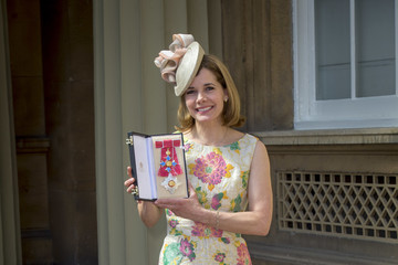 Darcey Bussell Investitures At Buckingham Palace
