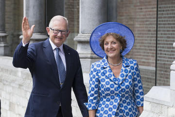 Daria Klimentova King Willem-Alexader Of Holland And Queen Maxima Of Holland At The Four Freedom Awards in Middelburg