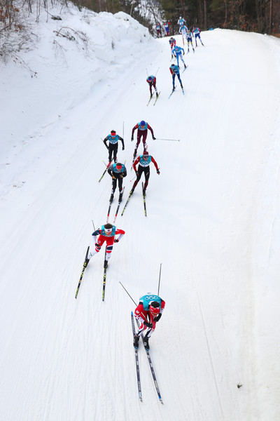 Cross-Country Skiing - Winter Olympics Day 15