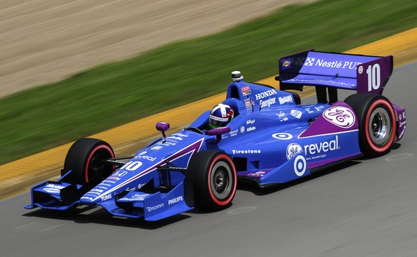Dario Franchitti - Honda Indy 200 At Mid-Ohio - Day 2