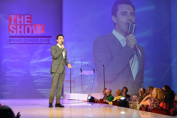 Darius Campbell Breast Cancer Care's London Fashion Show 2015