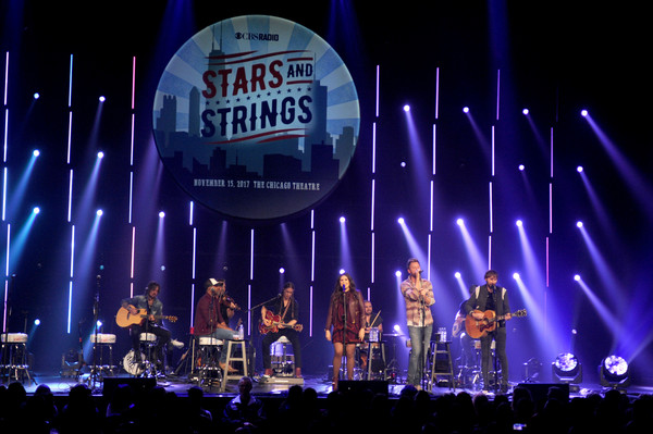 CBS RADIO's Third Annual 'Stars and Strings' Concert Honoring Our Nation's Veterans, Nov. 15 at the Chicago Theatre - Show [performance,entertainment,stage,concert,performing arts,rock concert,event,public event,musician,music,veterans,chicago theatre,nation,illinois,cbs radio,third annual stars and strings concert honoring our nations veterans,lady antebellum,chicago theatre - show,third annual stars and strings concert]