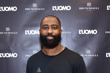 Darrelle Revis Bruno Magli SoHo NY Store Launch Event In Partnership With L'Uomo Vogue