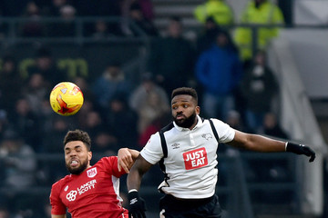 Darren Bent Derby County v Bristol City - Sky Bet Championship