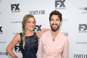 Darren Criss Mia Swier FX Networks Celebrates Their Emmy Nominees In Partnership With Vanity Fair