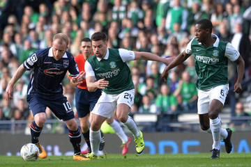 Darren McGregor Hibernian v Ross County - Scottish League Cup Final