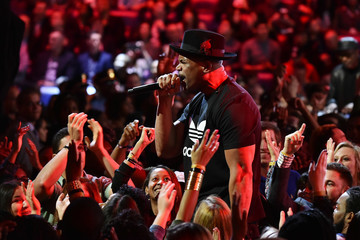 Darryl McDaniels Celebrities Attend The 66th NBA All-Star Game