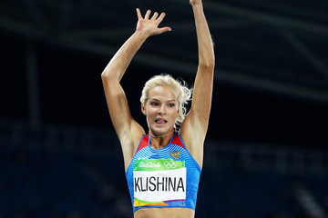 Darya Klishina Athletics - Olympics: Day 11