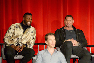 "Dave Bautista Winston Duke ""Avengers: Infinity War"" Global Press Conference"