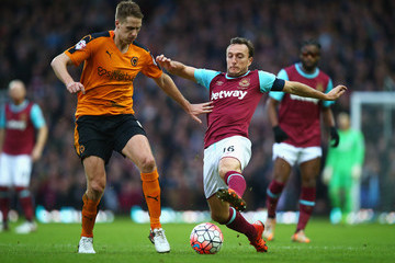 Dave Edwards West Ham United v Wolverhampton Wanderers - The Emirates FA Cup Third Round