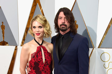 Dave Grohl Jordyn Blum 88th Annual Academy Awards - Red Carpet Pictures