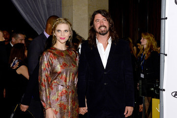 Dave Grohl Jordyn Blum 2016 Pre-GRAMMY Gala And Salute to Industry Icons Honoring Irving Azoff - Arrivals
