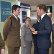 Dave Henson Prince Harry Visits the Royal British Legion Centre