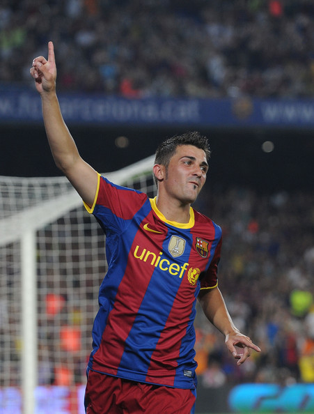 ������ ������� David Villa Barcelon