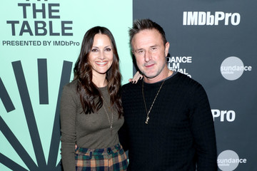 David Arquette Christina McLarty 2020 Sundance Film Festival - An Artist At The Table Presented By IMDbPro