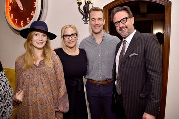 David Arquette Patricia Arquette The Dinner For Equality Co-Hosted By Patricia Arquette And Marc Benioff