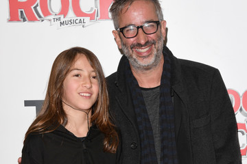 David Baddiel Opening Night Of 'School Of Rock The Musical' - Red Carpet Arrivals