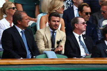David Beckham Day Eleven: The Championships - Wimbledon 2019