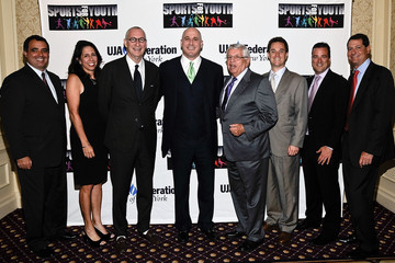 David Blitzer Guests at the New York's Sports for Youth Luncheon