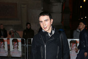 Marc Almond attends the private view of 'David Bowie Is' at Victoria & Albert Museum on March 20, 2013 in London, England.