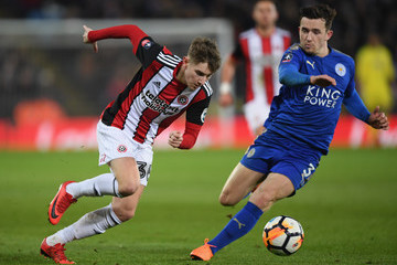 David Brooks Leicester City v Sheffield United - The Emirates FA Cup Fifth Round
