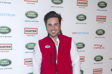David Bustamante Land Rover Discovery Challenge 2015 Photocall