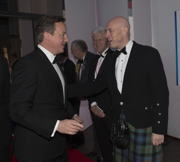 David Cameron - Arrivals at the Sun Military Awards