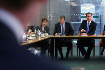 Sir Gus O'Donnell David Cameron Meets Permanent Secretaries Of Government Departments
