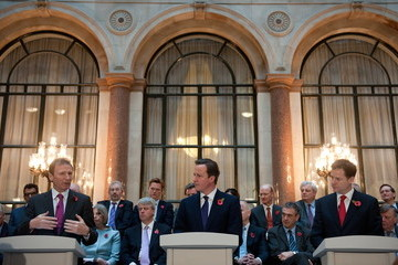 Gus O'Donnell David Cameron And Nick Clegg Mark Publication Of Departmental Business Plan
