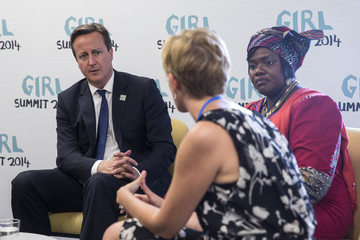 David Cameron UK's First Girl Summit