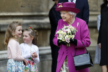 David Conner The Royal Family Attend Easter Service At St George's Chapel, Windsor