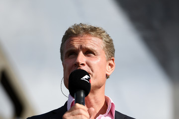 David Coulthard F1 Live In London Takes Over Trafalgar Square - Live Show