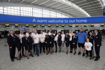 David Coulthard The British Airways Dream Team At Heathrow Terminal 5
