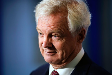 David Davis Conservative Party Conference - Day Two