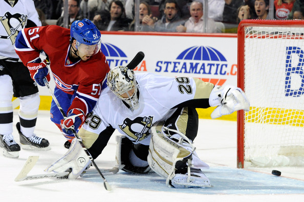 David Desharnais - Pittsburgh Penguins v Montreal Canadiens