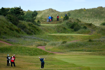 David Duval 146th Open Championship - Day One