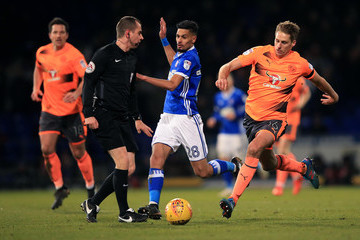 David Edwards Ipswich Town v Reading - Sky Bet Championship