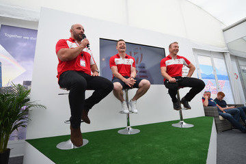 David Flatman HSBC London Sevens - Day One
