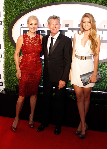 David Foster (L-R) TV Personality Yolanda Hadid, Producer David Foster