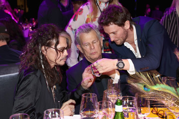 David Foster Steven Tyler's 2nd Annual Grammy Awards Viewing Party To Benefit Janie's Fund Presented By Live Nation - Inside