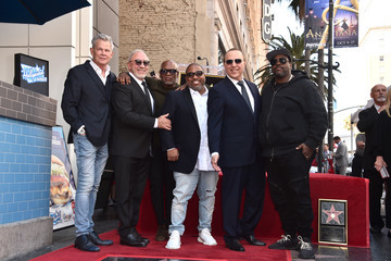 David Foster Tommy Mottola Honored With A Star On The Hollywood Walk Of Fame