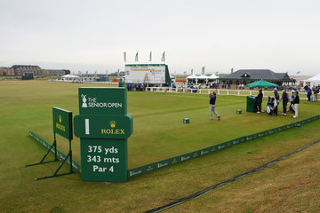 David Frost The Senior Open Championship - Day Three