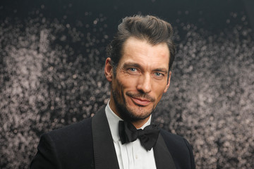 David Gandy Backstage - GQ Men of the Year Award 2017