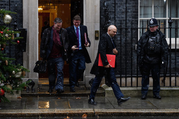 David Gauke Ministers Attend Cabinet Meeting as PM Prepares to brief Parliament on Brexit