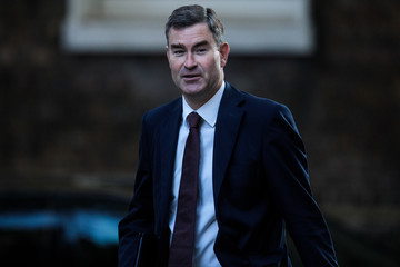 David Gauke Government Ministers Attend Cabinet After Conference Season Recess