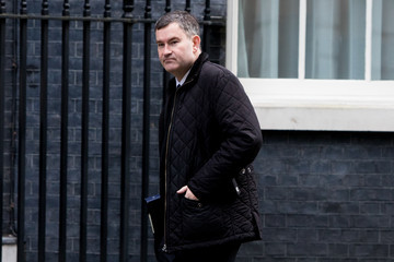 David Gauke Government Ministers Attend The Weekly Cabinet Meeting