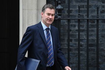 David Gauke Ministers Attend Cabinet Meeting At Downing Street