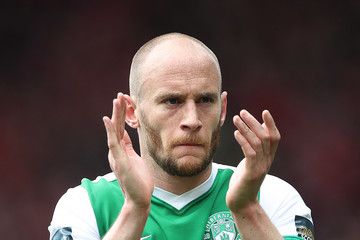 David Gray Hibernian v Aberdeen - Scottish Cup Semi-Final