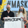 David Gray Las Vegas Entertainers Kick Off Pro-Mask Wearing Campaign With Fashion Show Amid Spike In COVID-19 Cases