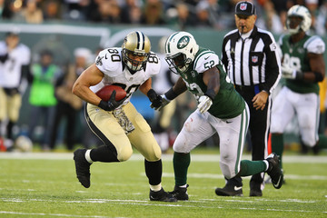 David Harris New Orleans Saints v New York Jets